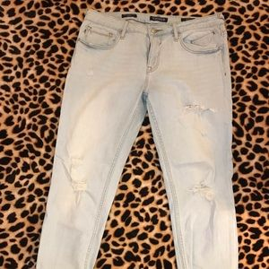 Vigoss the Thompson tomboy ankle skinny jeans 31